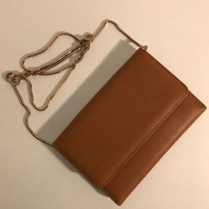 Forever 21 Foldable Tan Crossbody Bag